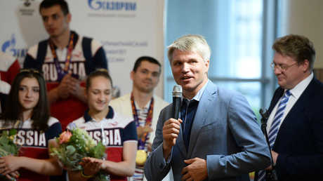بافل كولوبكوف وزير الرياضة الروسي