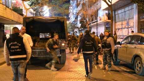 قوات الأمن اللبنانية