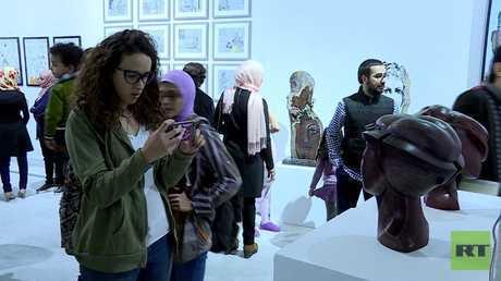 فعاليات صالون الشباب في القاهرة