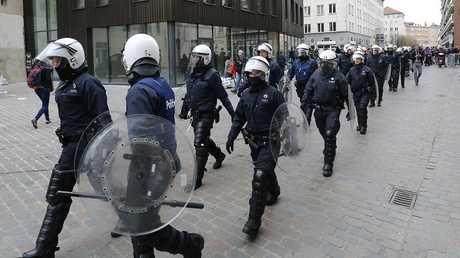 قوات مكافحة الشغب البلجيكية - أرشيف