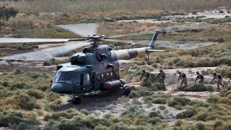 مروحية Mi 17 تابعة للجيش العراقي
