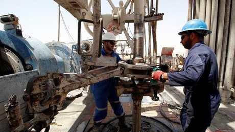 حقول إنتاج النفط في العراق