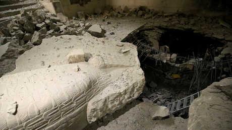 الدمار في متحف الموصل