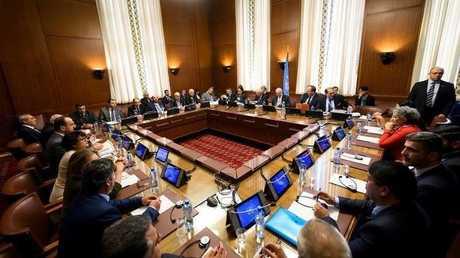 جولة سابقة من المفاوضات السورية