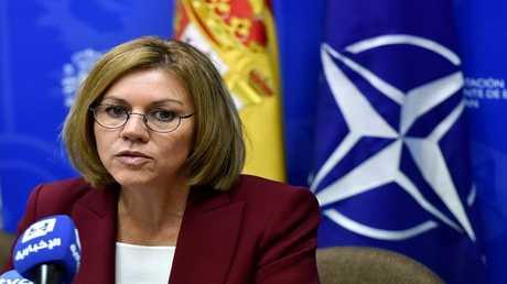 وزيرة الدفاع الاسبانية ماريا دولوريس كوسبيدال
