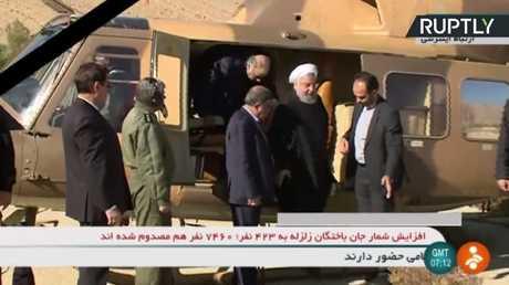 روحاني يزور إقليم كرمانشاه