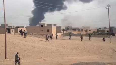 القوات العراقية تتأهب لاقتحام قضاء راوة