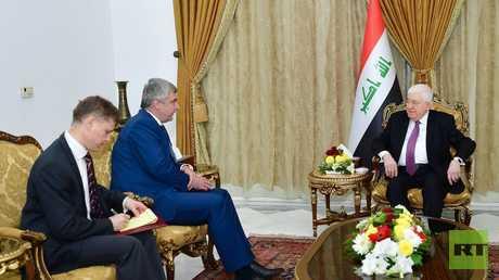 السفير الروسي ينقل رسالة الرئيس بوتين للرئيس العراقي