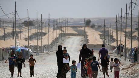 مخيم للنازحين في العراق