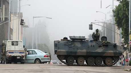 الجيش يسيطر على هراري عاصمة زيمبابوي