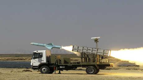 صاروخ إيراني - أرشيف