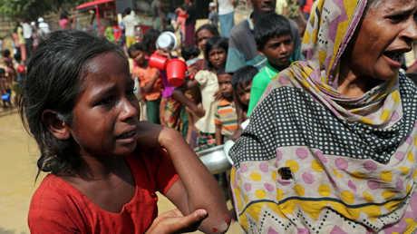 اغتصاب جماعي لنساء وفتيات الروهينغا في بورما
