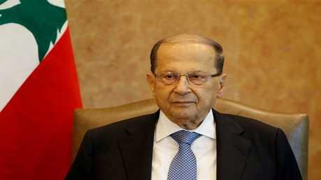 الرئيس اللبناني ميشال  عون