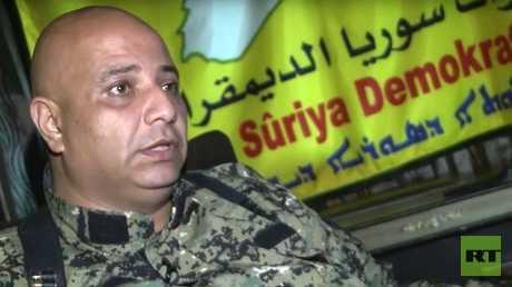 الناطق الرسمي باسم قوات سوريا الديمقراطية العميد طلال سلو