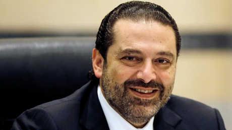 رئيس الوزراء اللبناني المستقيل، سعد الحريري