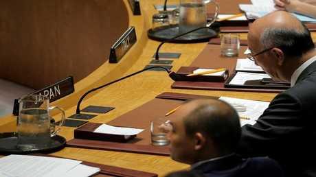 أرشيف - السفير الياباني لدى الأمم المتحدة كورو بيسهو - نيويورك 29 أغسطس 2017