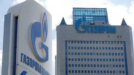 مقر شركة غازبروم الروسية للغاز في العاصمة الروسية موسكو