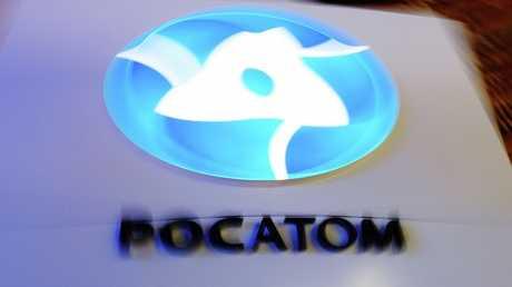 """شعار مؤسسة """"روس آتوم"""" الروسية التي ستنفذ مشروع محطة """"أكويو"""" الكهرذرية"""