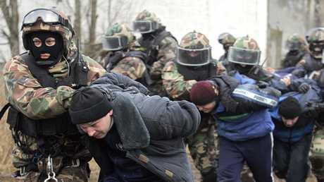 أرشيف  - قوات الأمن الروسية