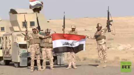 القوات العراقية تستعيد قضاء راوة بالكامل