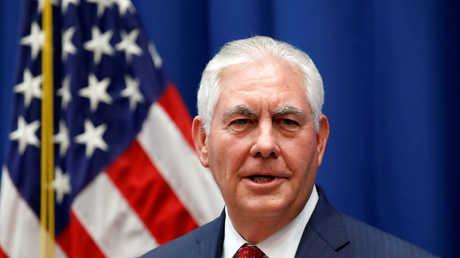 وزير الخارجية الأمريكي ريكس تيلرسون