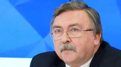 ميخائيل أوليانوف، مدير دائرة حظر الانتشار ومراقبة التسلح بالخارجية الروسية