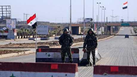 حاجز أمني في سوريا