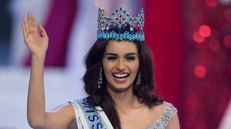 ملكة جمال العالم الهندية مانوشي تشيلار