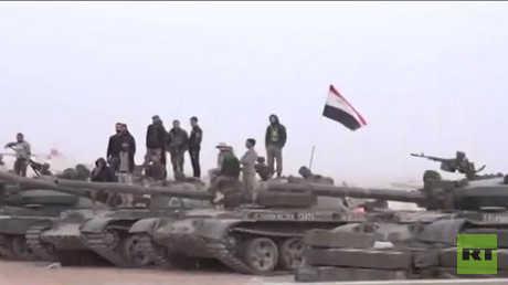 أرشيف - قوات تابعة للجيش السوري