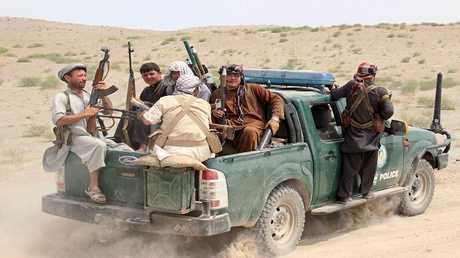 أرشيف  - مسلحون تابعون لحركة طالبان