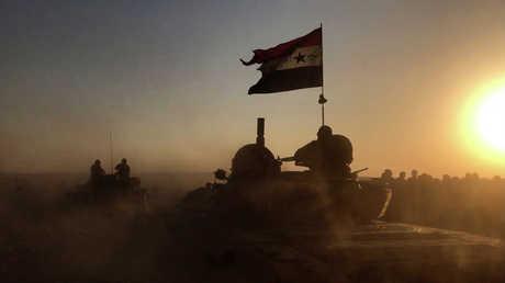 قوات من الجيش السوري في دير الزور