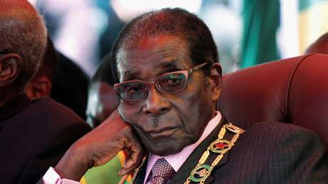 صورة أرشيفية لرئيس زيمبابوي، روبيرت موغابي