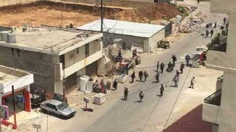 الاستنفار في مخيم البداوي شمال لبنان