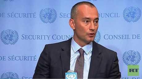 مبعوث الأمم المتحدة إلى الشرق الأوسط نيكولاي ملادينوف