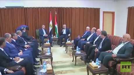 مباحثات المصالحة الفلسطينية