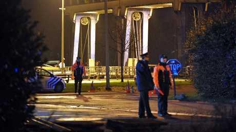 عناصر من الشرطة البلجيكية - أرشيف -