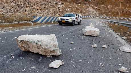 زلزال إيران - أرشيف -