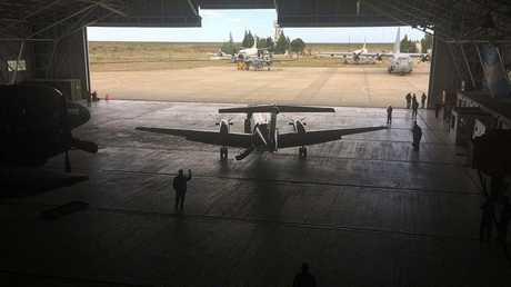 الأرجنتين - طائرات مشاركة في عملية البحث عن الغواصة الأرجنتينية المفقودة