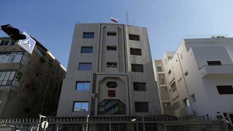 السفارة الروسية في تل أبيب، في 20 ديسمبر 2016