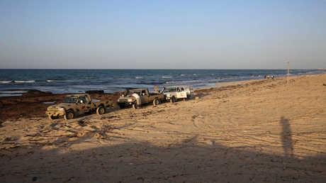 السواحل الليبية - أرشيف