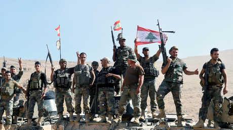 أفراد من الجيش اللبناني