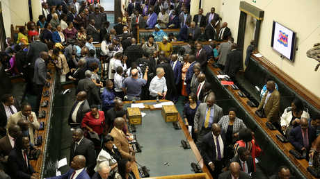 أعضاء البرلمان الزيمبابوي