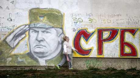 جرافيتي لراتكو ملاديتش في بلغراد