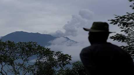 بركان في بالي - أندونيسيا -