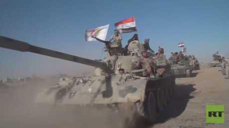 استراتيجية التحكم بحدود العراق مع سوريا