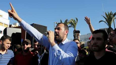 """قائد """"حراك الريف"""" بالمغرب ناصر الزفزافي"""