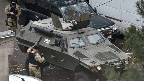جورجيا.. مقتل شرطي و3 مسلحين في عملية لمكافحة الإرهاب