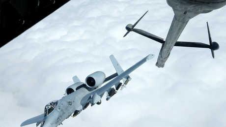 طائرة A-10 Thundebolt-2 تابعة لسلاح الجو الأمريكي