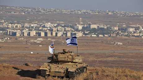 الحدود الإسرائيلية - السورية (صورة من الأرشيف)
