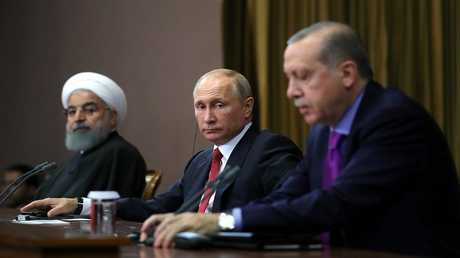 القمة الثلاثية حول سوريا